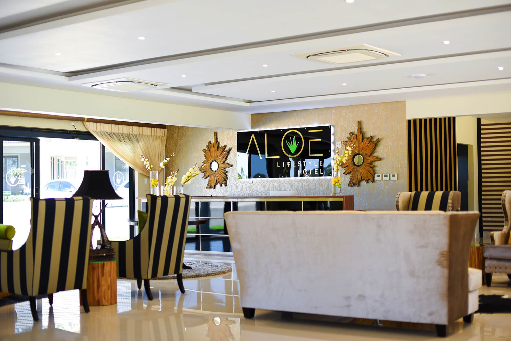 Aloe Lifestyle Hotel Reception